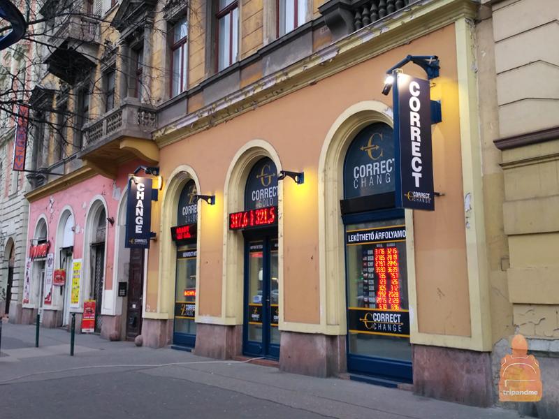 Где менять деньги в Будапеште