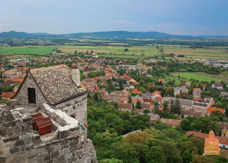 Вид с вершины крепости
