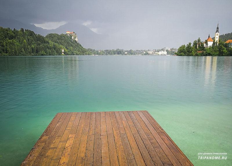 Где найти пляж в Словении