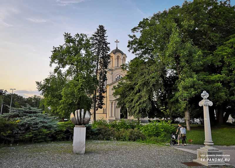 Где найти красивую архитектуру в столице Словении