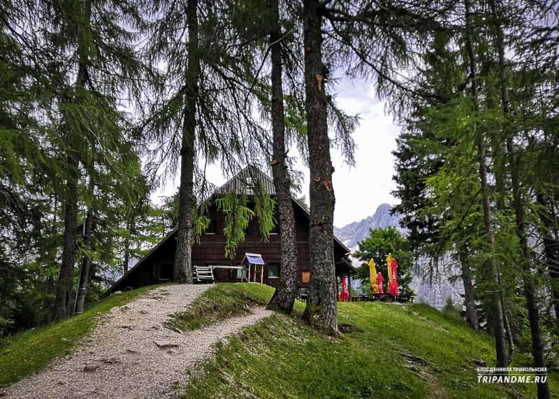 Отели в горах называют хижинами