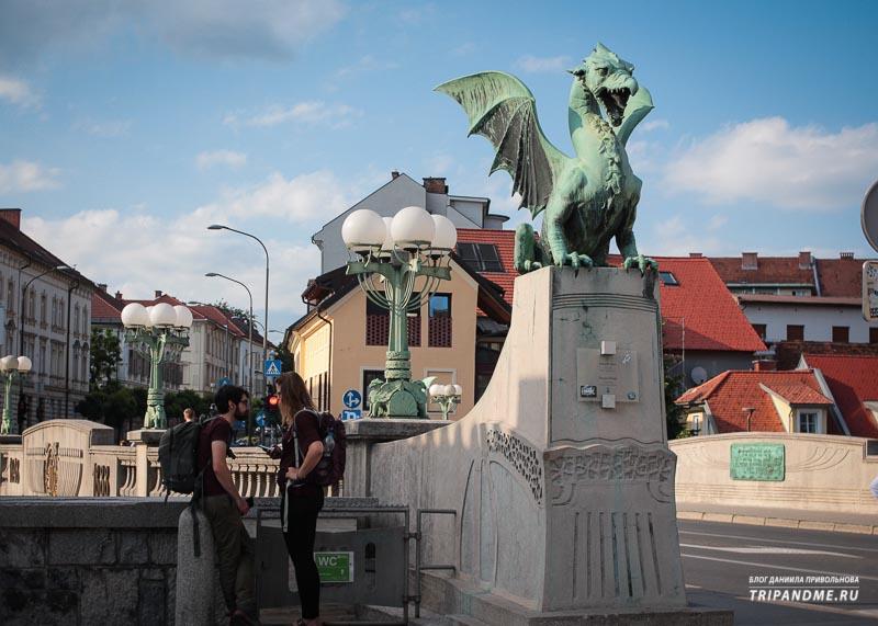 Топ красивых достопримечательностей Любляны