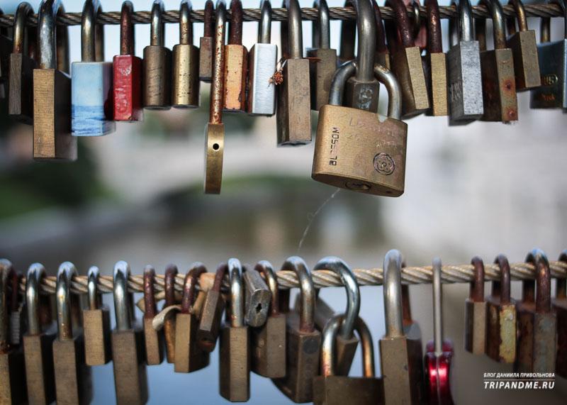 Места для влюблённых в столице Словении