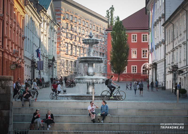 Куда пойти прогуляться в Любляне