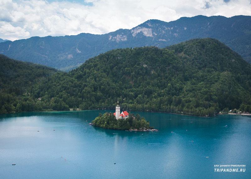Где найти красивый пейзаж в Словении