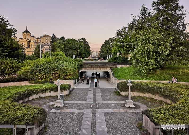Главные места для прогулки в столице Словении