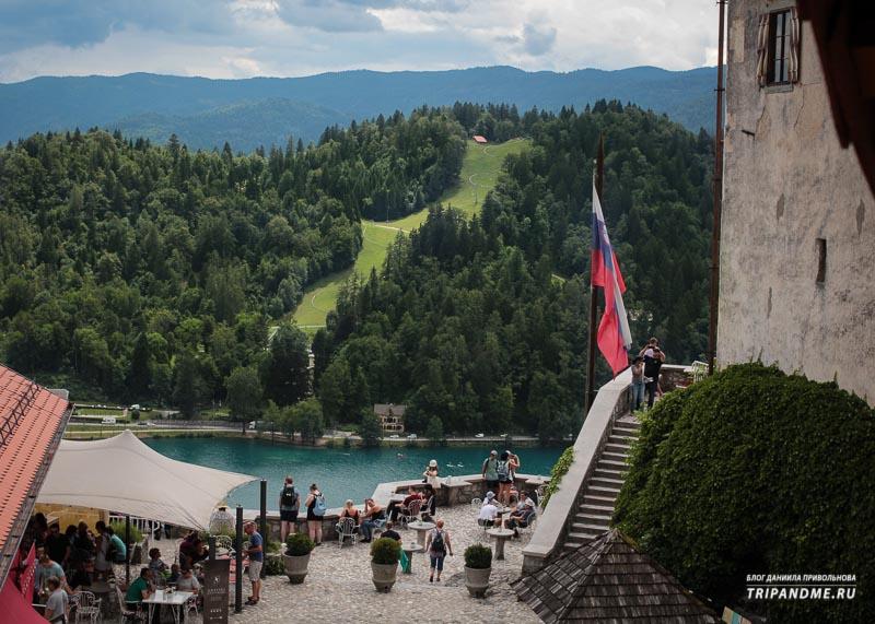 Красивые виды в Словении