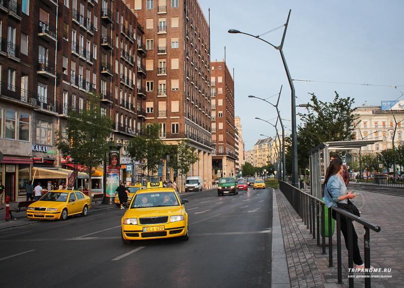 Цен на такси в Будапеште выскоие