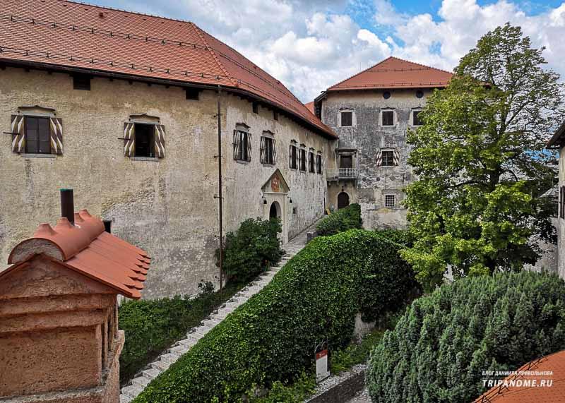 Как найти Бледский замок в Словении