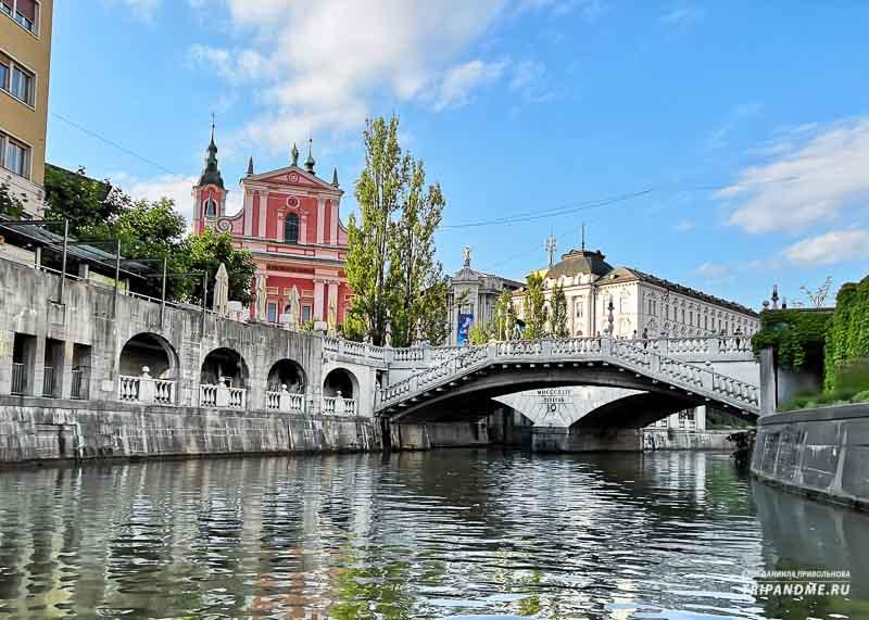Архитектура с историей в Словении