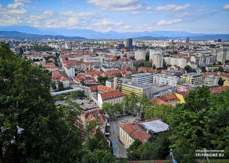 Пейзажи в Словении