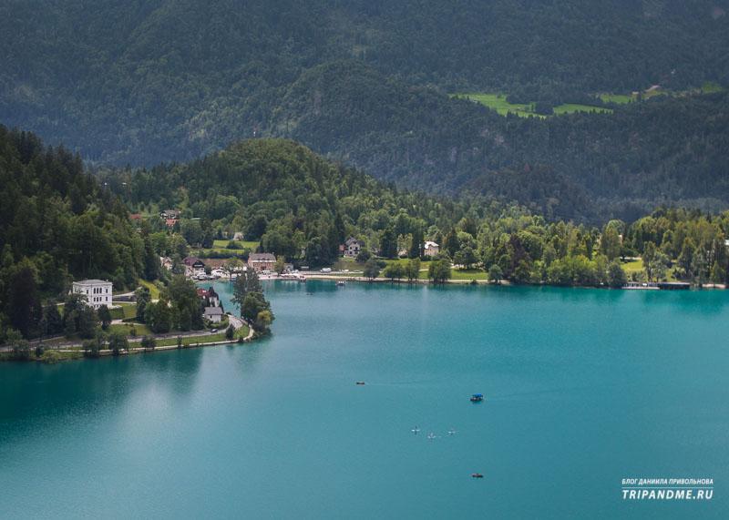 Где найти красивые пейзажи в Словении