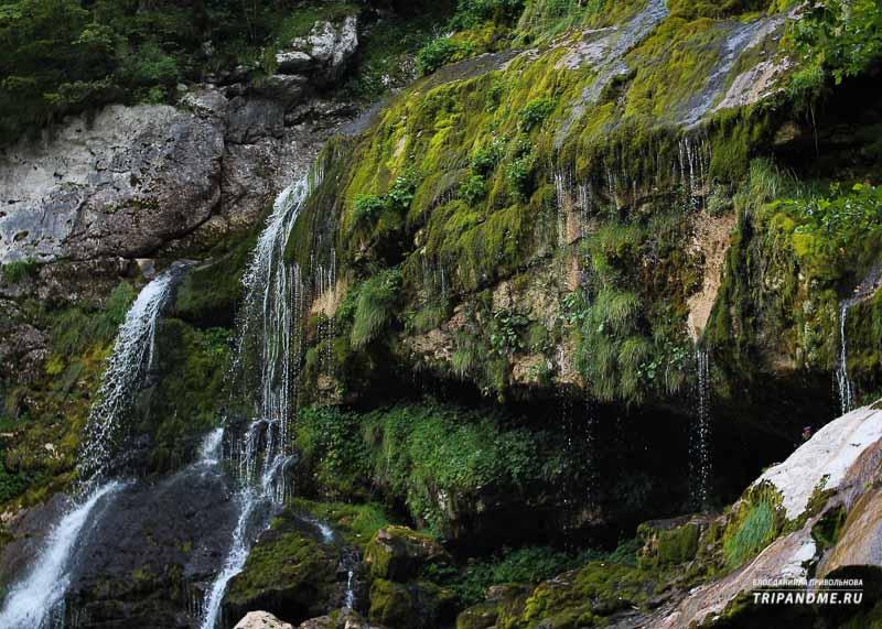 Водопад Вирье в Словении