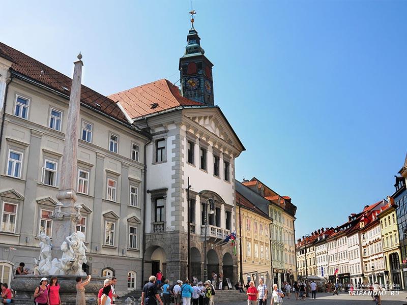 Главные достопримечательности столицы Словении