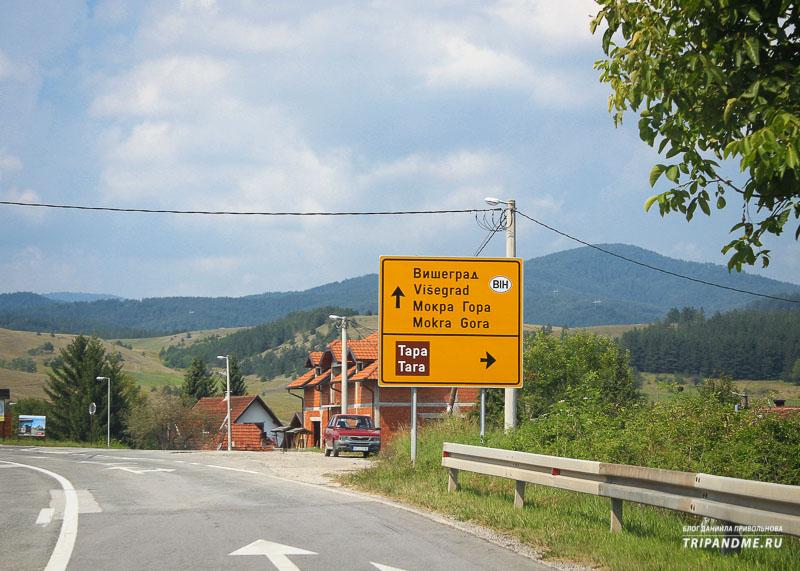 Как добраться из Белграда до Мокра Горы