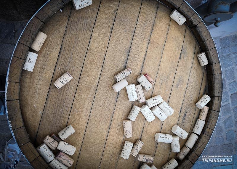 Эгер и Токай - два самых знаменитых венгерских винных региона