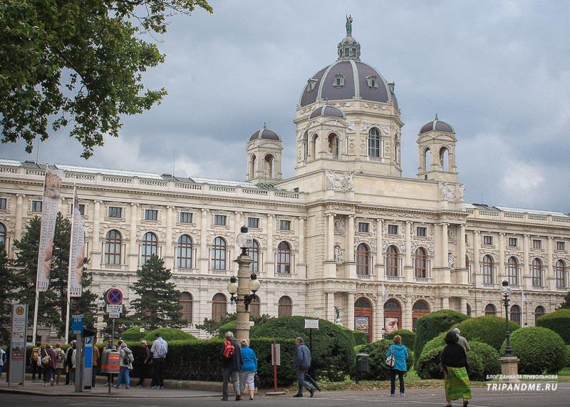 Работы именитых художников собраны под крышей художественного музея в Вене