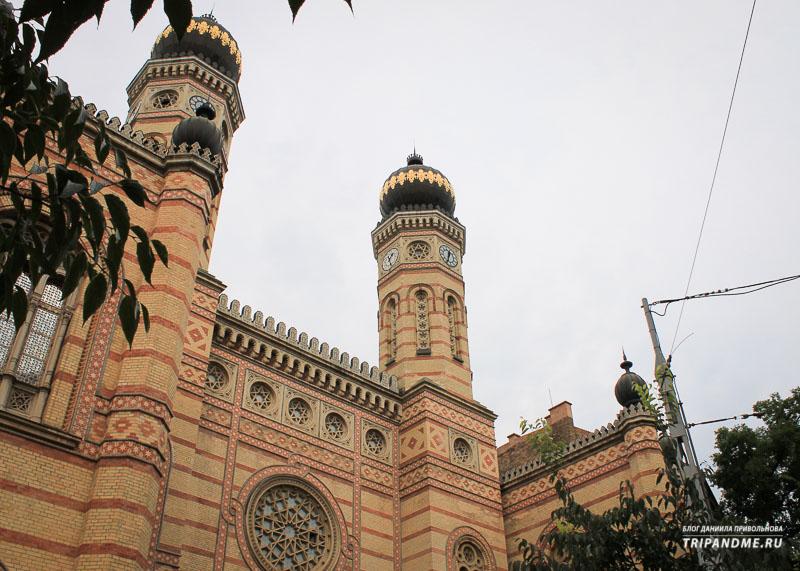 Синагога Будапешт построена в 19 веке