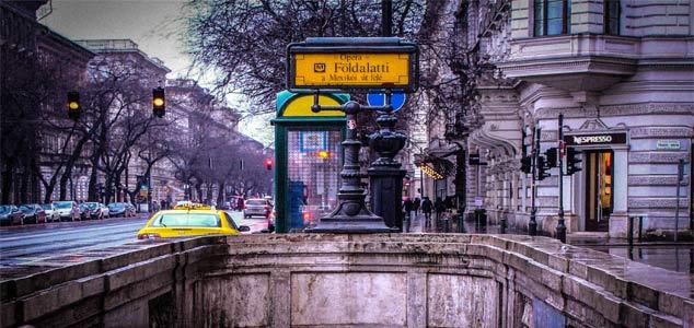 Желтая ветка метро появилась в Будапеште первой
