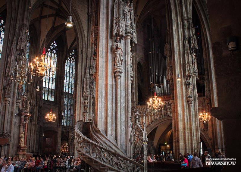 В собор святого Стефана в Вене можно зайти бесплатно