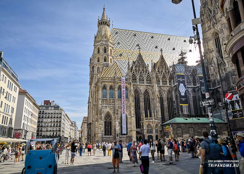 Главная церковь Вены названа в честь Святого Стефана