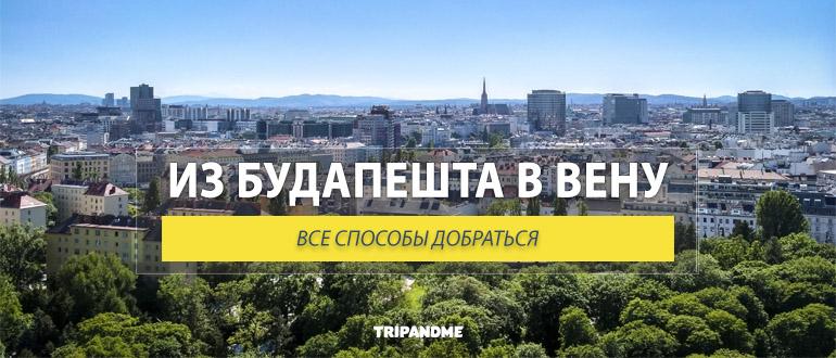Из Будапешта в Вену можно доехать на поезде, автобусе, машине и теплоходе