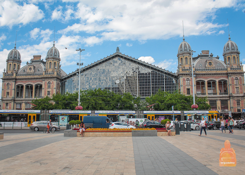 Вокзал Нюгати в Будапеште