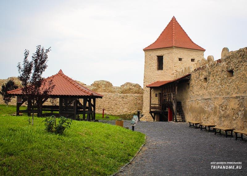Что представляют из себя крепости в Румынии