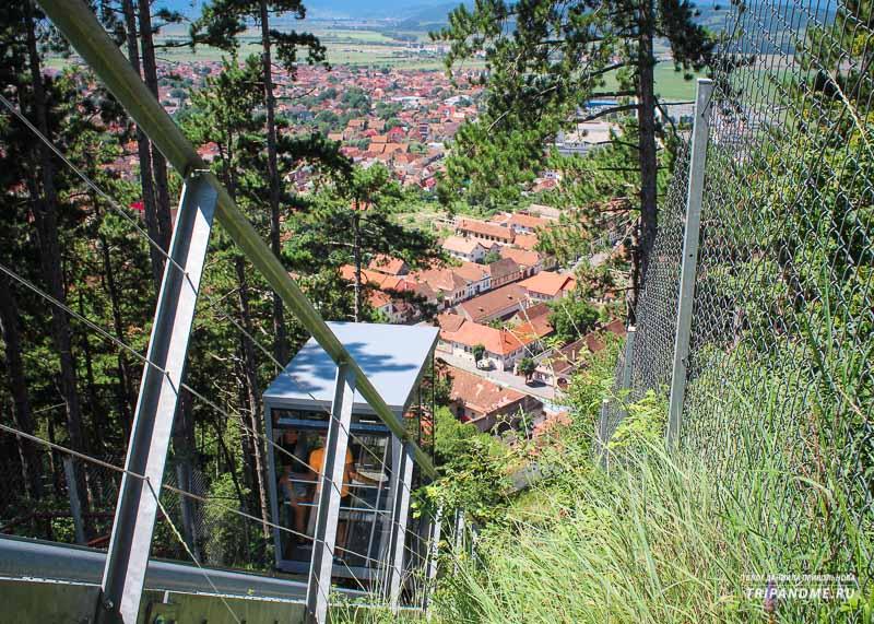 Как добраться до Румынской крепости Рышнов
