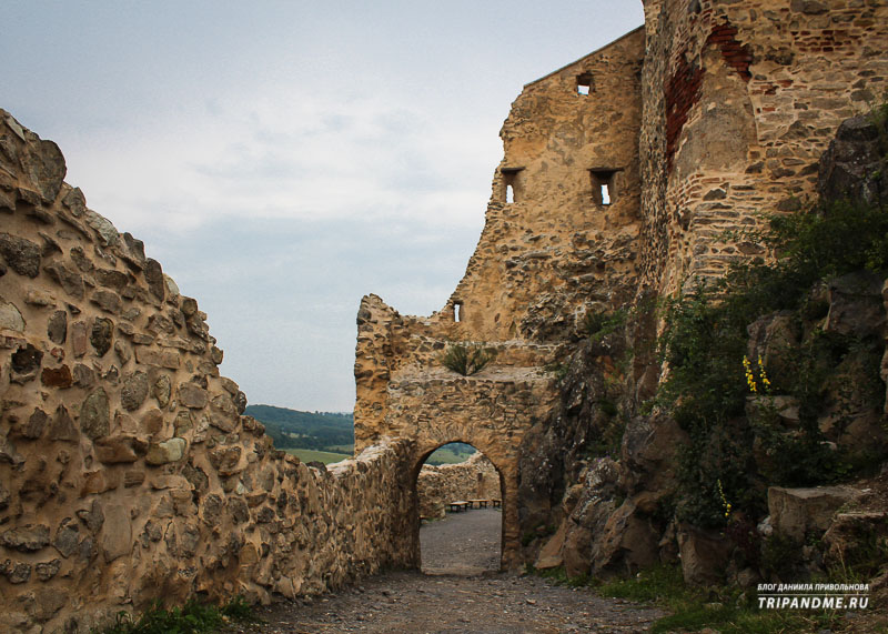 Как сохранились крепости в Румынии