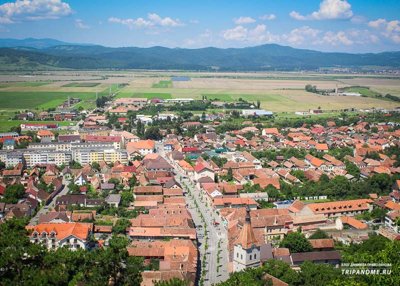 Самые красивые панорамы в Румынии