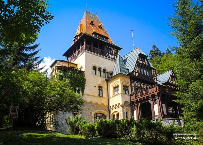 Что из себя представляют Румынские замки