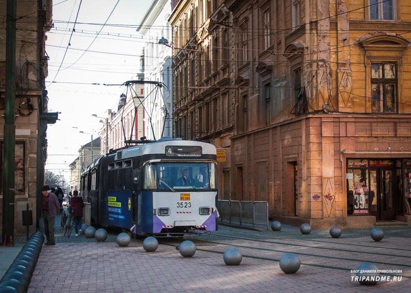 На чём передвигаться по Румынским городам