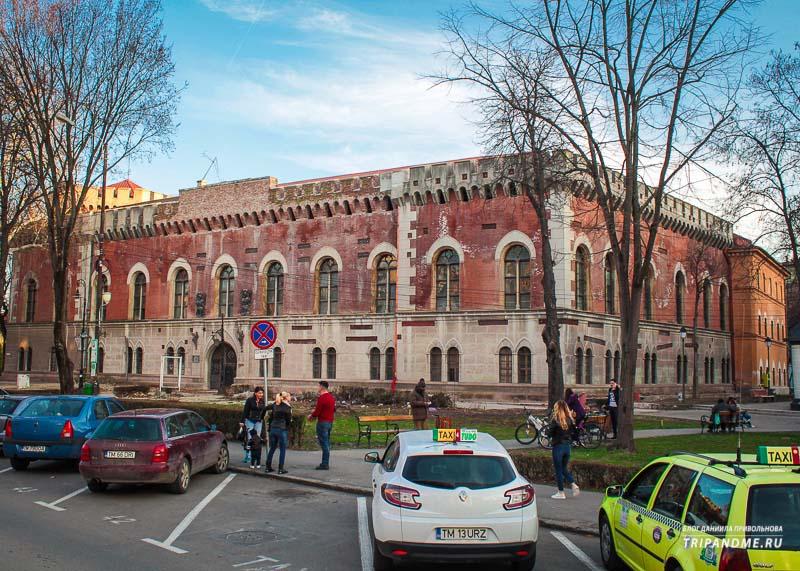 Архитектурно красивые здания в Тимишоаре