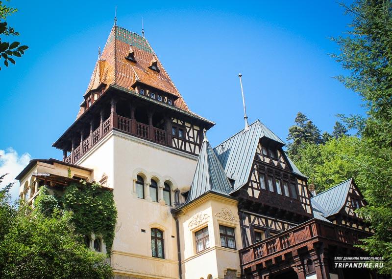 Румынские замки и как они выглядят
