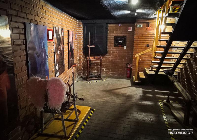 Один из залов музея эротики и секса в Будапеште