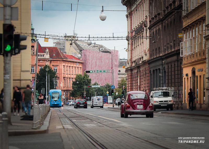 Едем из Будапешта в Загреб на автобусе