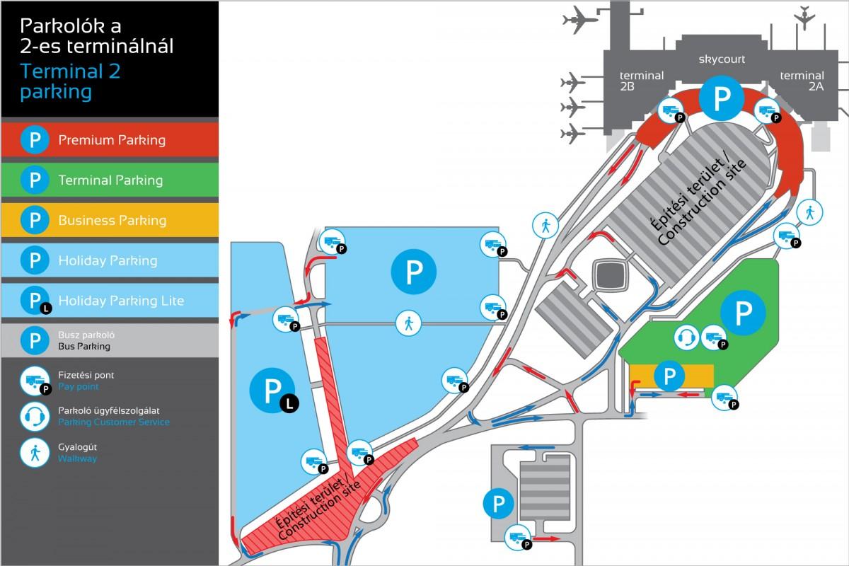 Всё о паркинге Будапештского аэропорта