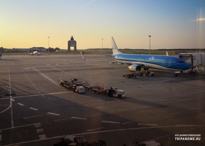 Вышка диспетчеров в аэропорту Будапешта