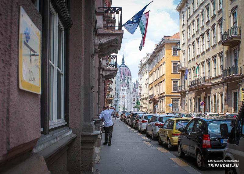 Где найти апартаменты около Будапештского Парламента