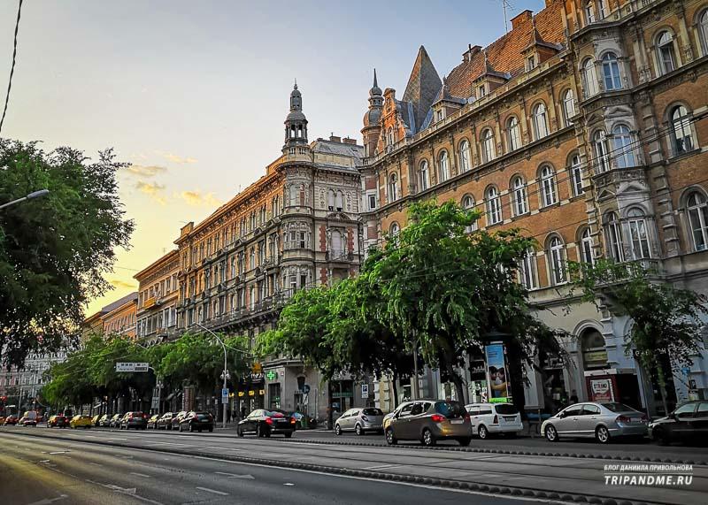 Где можно прогуляться и увидеть интересную архитектуру Венгерских зданий