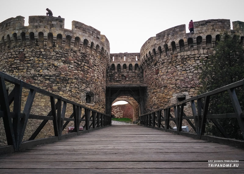 Ворота Зиндан в Белградской крепости