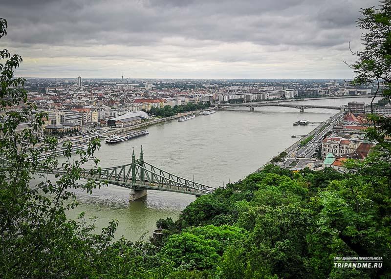 Красивые виды Будапешта