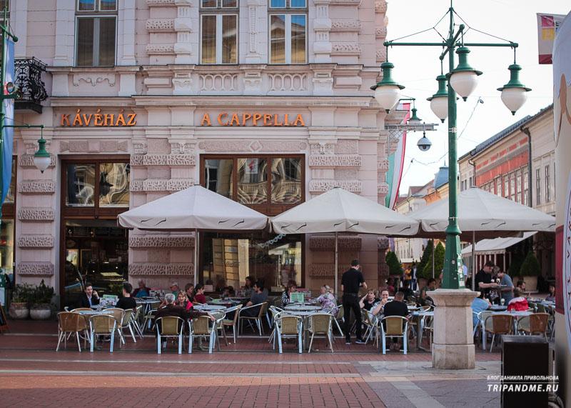 Где погулять и поесть в Сегеде