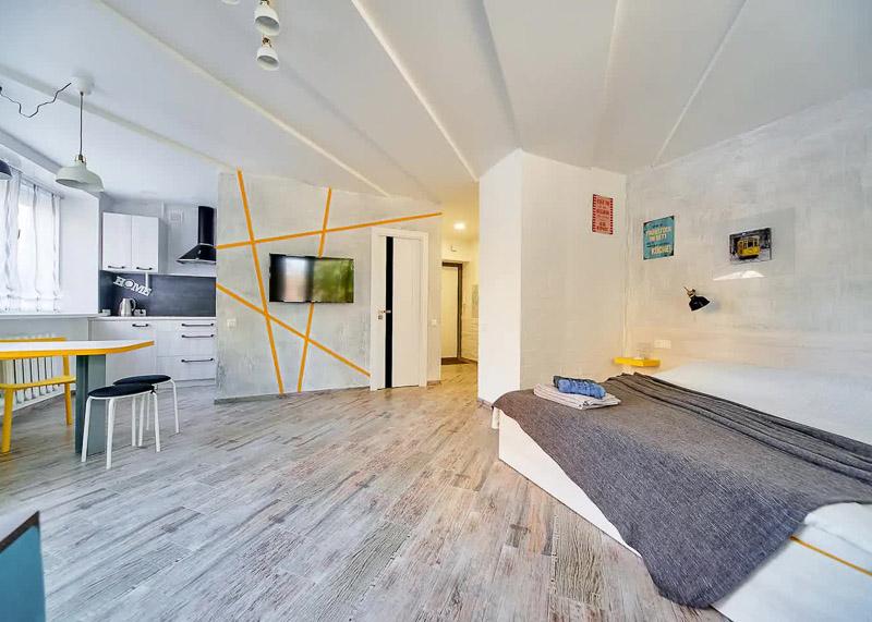 Квартира-студия в Минске