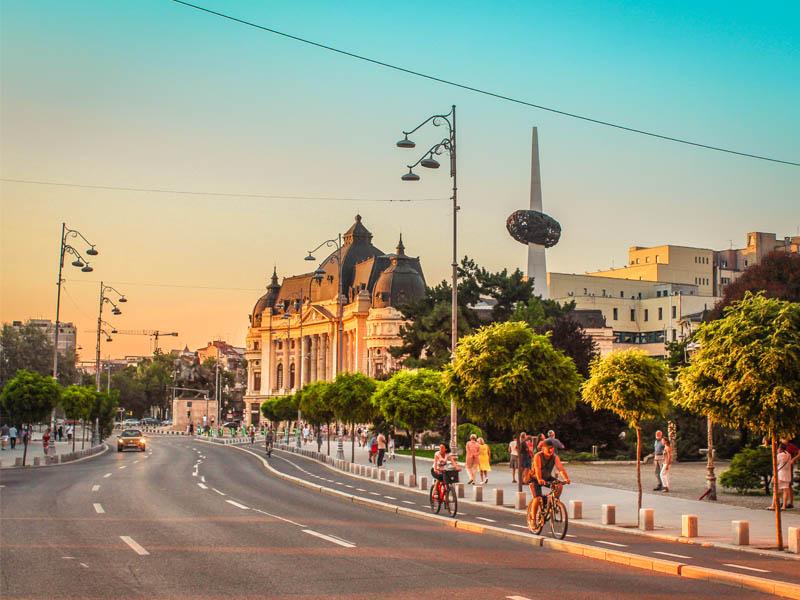 Бухарест столица Румынии