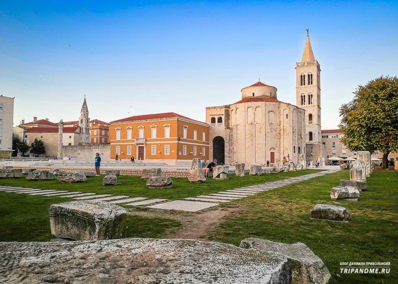 Топ Задарских достопримечательностей в Хорватии