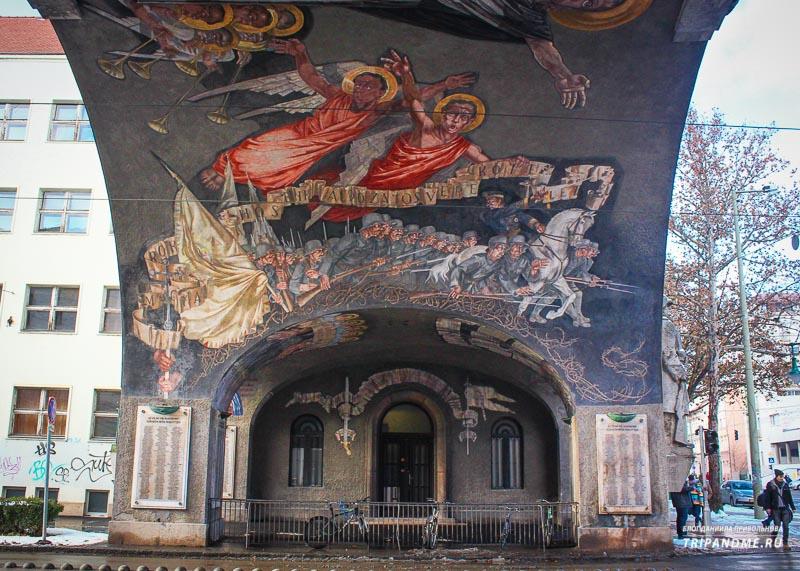 Ворота героев в Венгрии