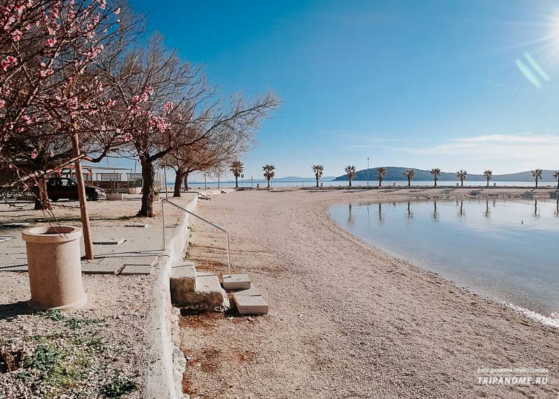Пляж Кашуни в Сплите фото