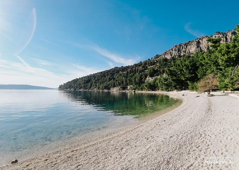 Природа вокруг пляжа Кашуни в Сплите